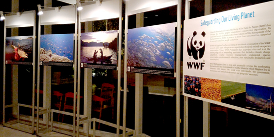 World Wildlife Fund Exhibit opening at Park Inn by Radisson Davao