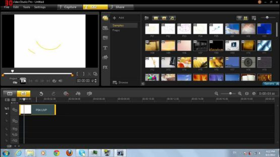 Corel VideoStudio Pro X6 screenshot 3