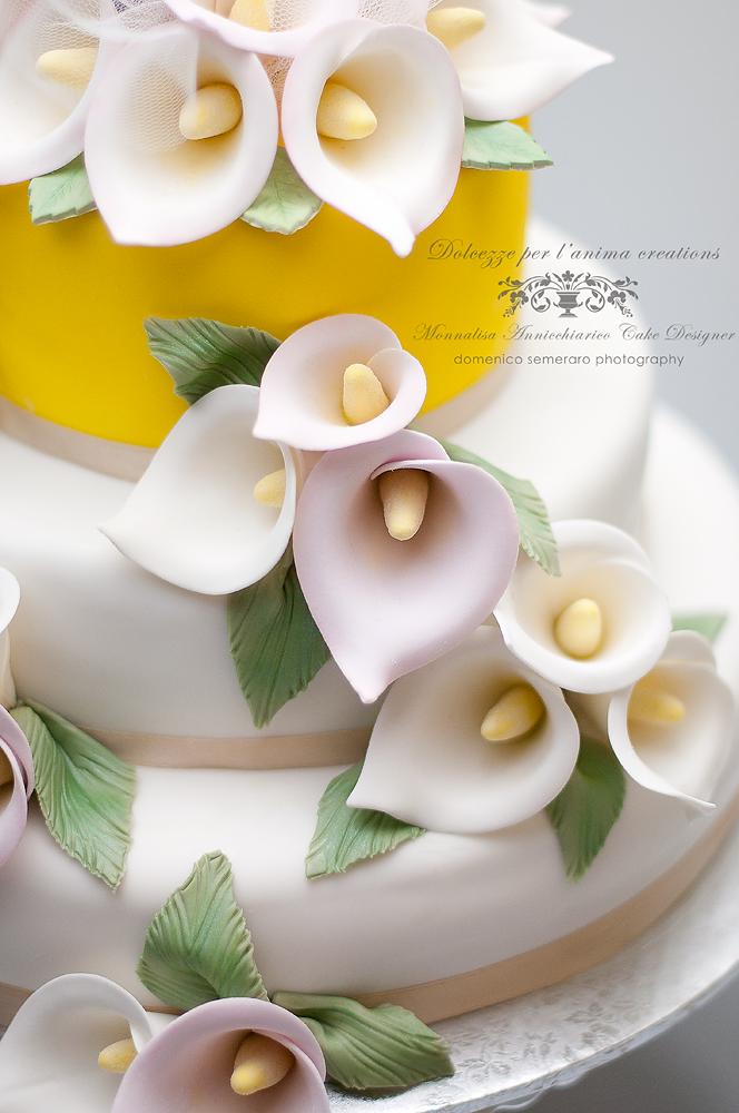 Dolcezze per l'Anima....Monnalisa's Cakes: Torta con Calle ...