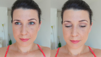 Coastal Scents Revealed no makeup neutral look