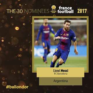 France Football Ballon D´Or 2017