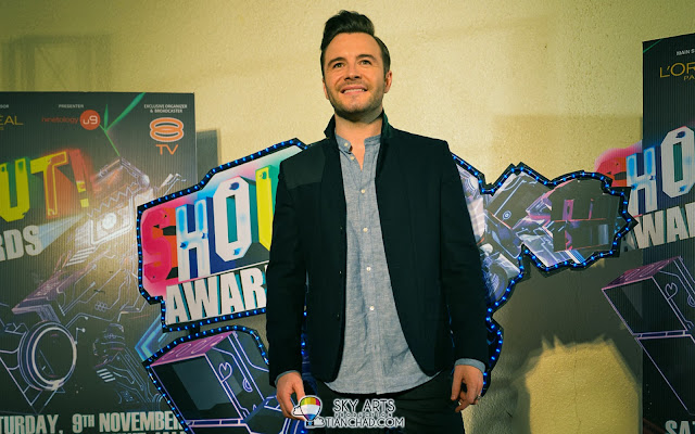Shane Filan at The Shout! Award 2013 Red Carpet