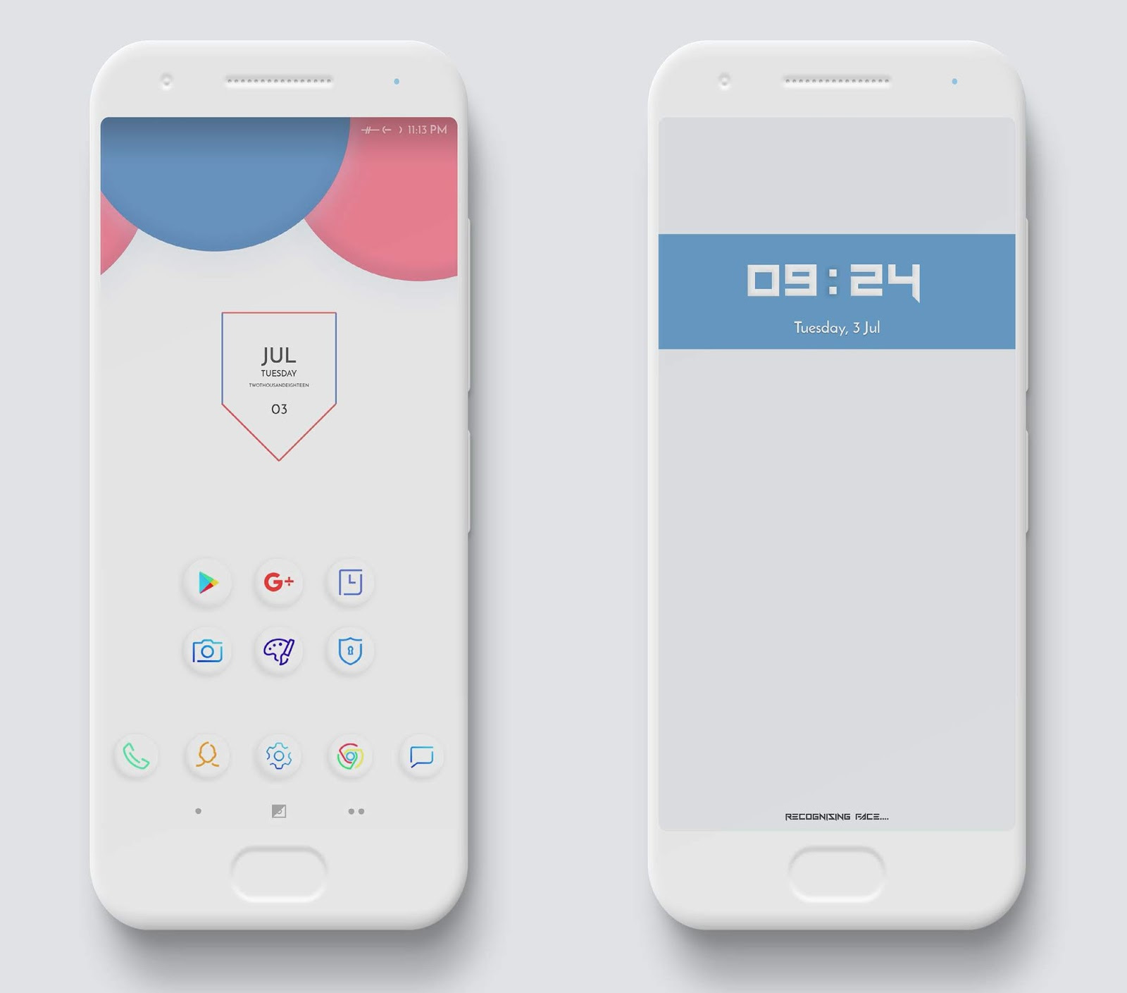 Clay V2 Huawei Themes For EMUI 4