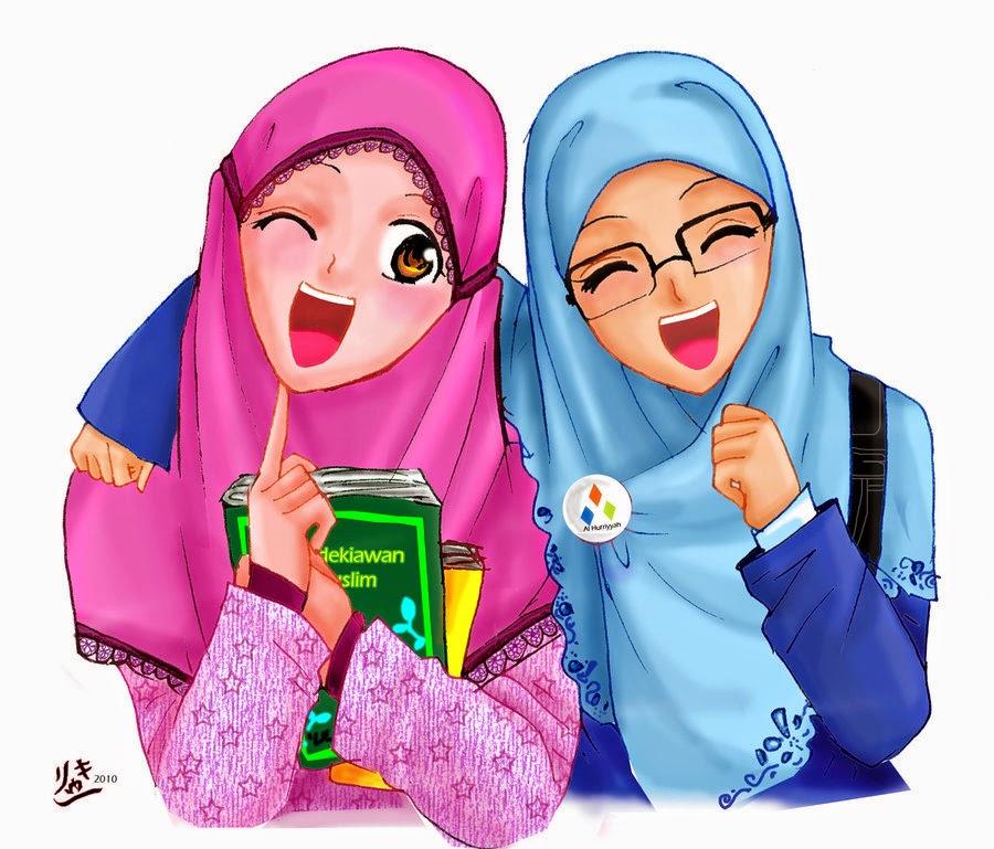 Nasehat Cinta Remaja Islami Ketika Jatuh Gambar Kata Kartun Muslimah