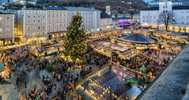 Salzburg on Christmas