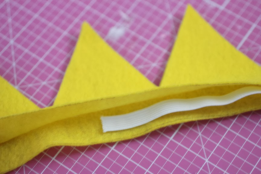 no sew felt princess peach crown repeat crafter me