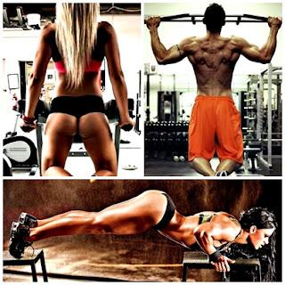 Calistenia o pesas masa muscular hombres mujeres gym