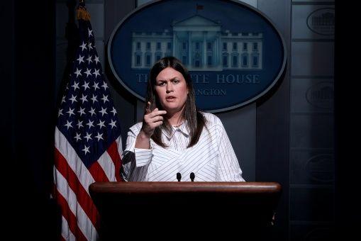 Sarah Huckabee es la nueva portavoz de la Casa Blanca, EE.UU.