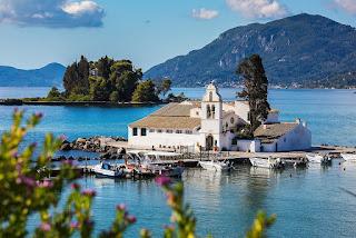 Mysia Wyspa Korfu