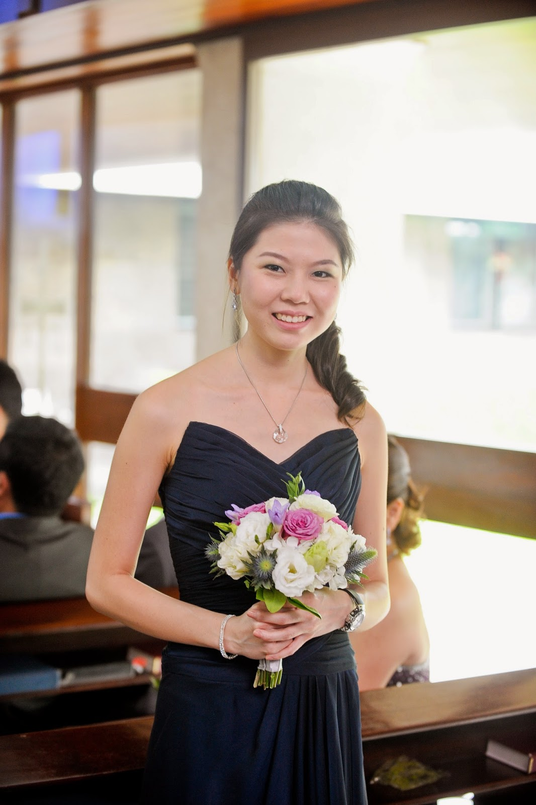 Jobelle at My Wedding in Manila, Philippines