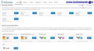Cara mendapatkan uang dari internet survey clixsense