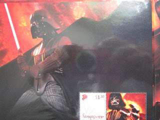 Star Wars Singapore Post limited edition stamp collection set lot Light Dark Side Limited edition 3,000 Luke Skywalker Anakin Obi-Wan Yoda C3P0 R2-D2 Chewbecca Han Solo Millinium Falcon X-wing- Y-Wing Mace Windu Qui-gon Jinn Rebellion Empire Sith Jedi Darth Vader Darth Maul General Greivous Count Dooku Boba Fett Jabba the Hutt Clone troopers Stormtroopers Tie fighter Death Star Star Destroyer