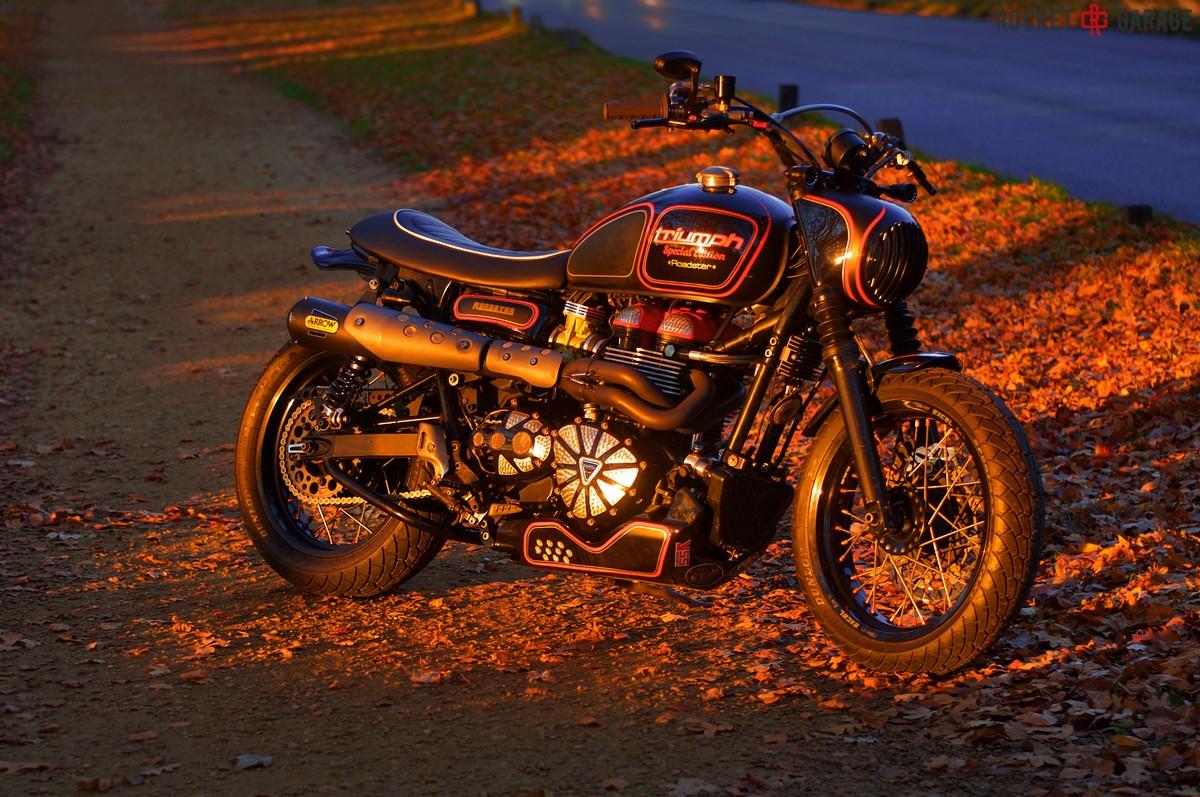 Triumph Roadster Hooligan Hot Rod Rocketgarage Cafe Racer Magazine