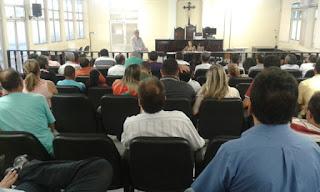 Em audiência com juíza eleitoral de Cajazeiras sobre pleito 2016 ficou constatado que treze partidos estão irregulares