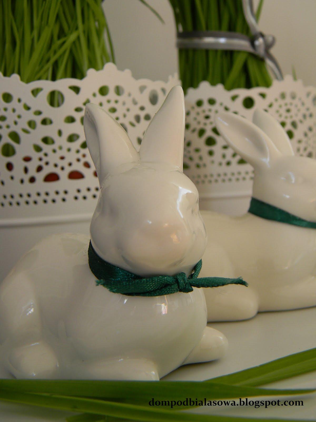 Dom Pod Białą Sową Dekoracje Wielkanocne Zajączki