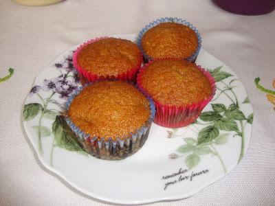 Muffins de calabacín