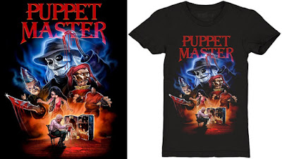 Puppet Master T-Shirt by Cavity Colors x Devon Whitehead