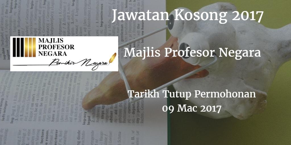 Jawatan Kosong MPN 09 Mac 2017