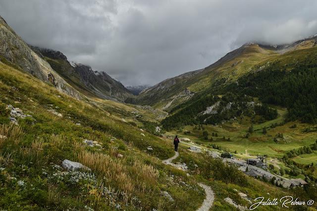 Randonnée dans le parc national de la Vanoise