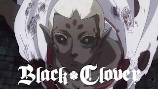 Os Ataques do elfo negro! em Black Clover
