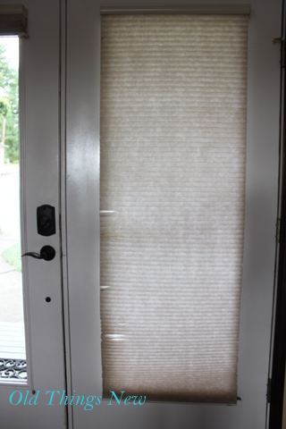 When I Started Seeing Full Curtains Over Double Doors In My Pottery Barn  Magazine I Was Inspired. I Especially Loved The Look Of Their Fat Tie Drape.