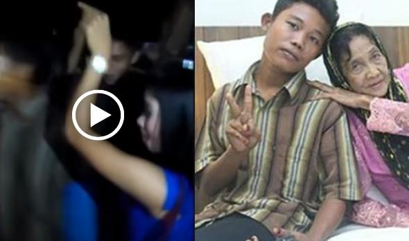 Video yang mendakwa Selamat sedang asyik berseronok serta bergoyang sakan dengan wanita lain