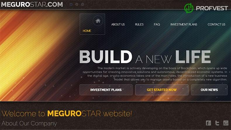 MeguroStar обзор и отзывы HYIP-проекта