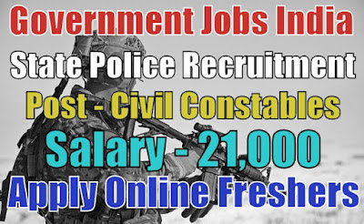 Karnataka State Police Recruitment 2018
