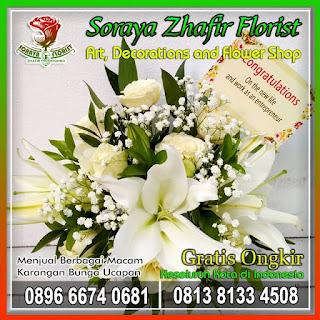 harga bunga ucapan selamat dan sukses
