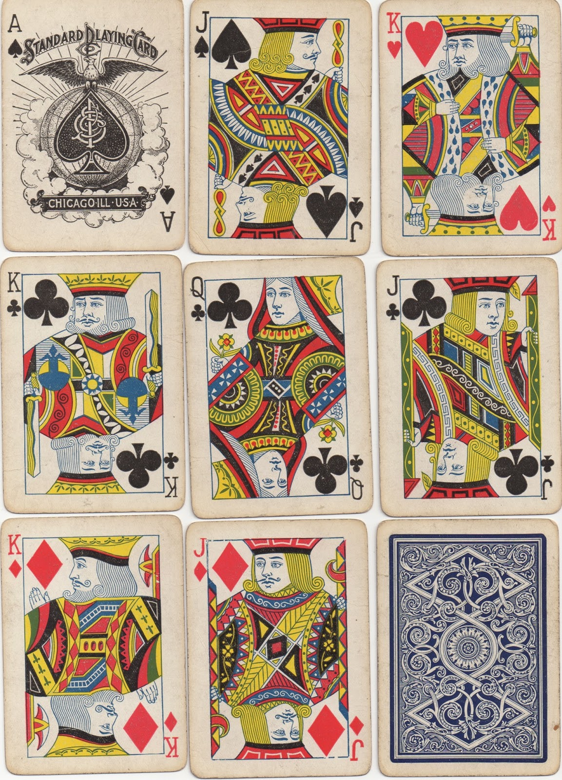 Playing Cards And Their History: 43: THE UNITED STATES