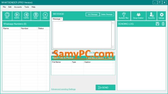 WhatSender Pro Free Download Full Latest Version