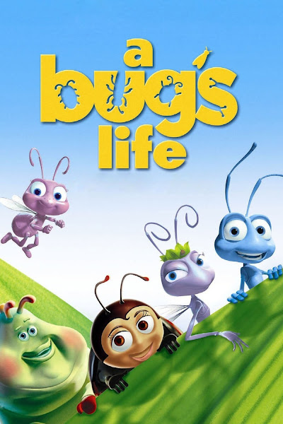 Poster Of A Bug's Life 1998 Hindi 720p BRRip Dual Audio Full Movie Download