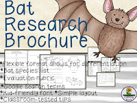 https://www.teacherspayteachers.com/Product/Bat-Research-Project-2467718