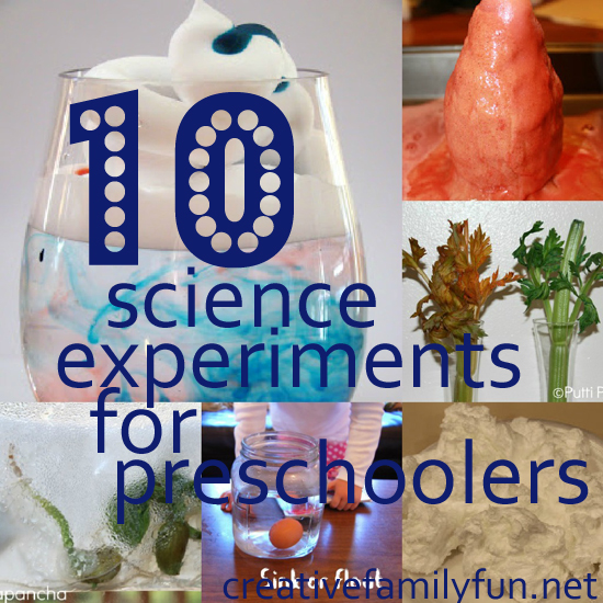 Kindergarten Science Activities and Experiments