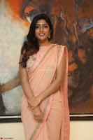 Eesha Rebba in beautiful peach saree at Darshakudu pre release ~  Exclusive Celebrities Galleries 054.JPG