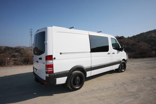 used rvs 2008 dodge sprinter adventure van for sale by owner. Black Bedroom Furniture Sets. Home Design Ideas