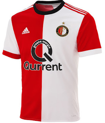 Feyenoord Home Soccer Jerseys 17-18 Season