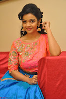 Nithya Shetty in Orange Choli at Kalamandir Foundation 7th anniversary Celebrations ~  Actress Galleries 109.JPG