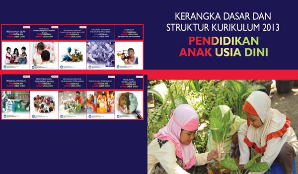 Buku Panduan Struktur Kurikulum 2013 PAUD TK RA Terbaru