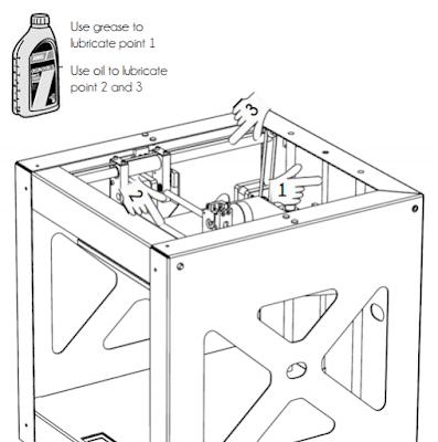 BUILDER 3D Printer Manual : Maintenance & Troubleshooting