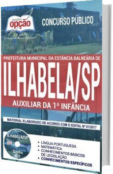 Apostila Prefeitura de Ilhabela 2017