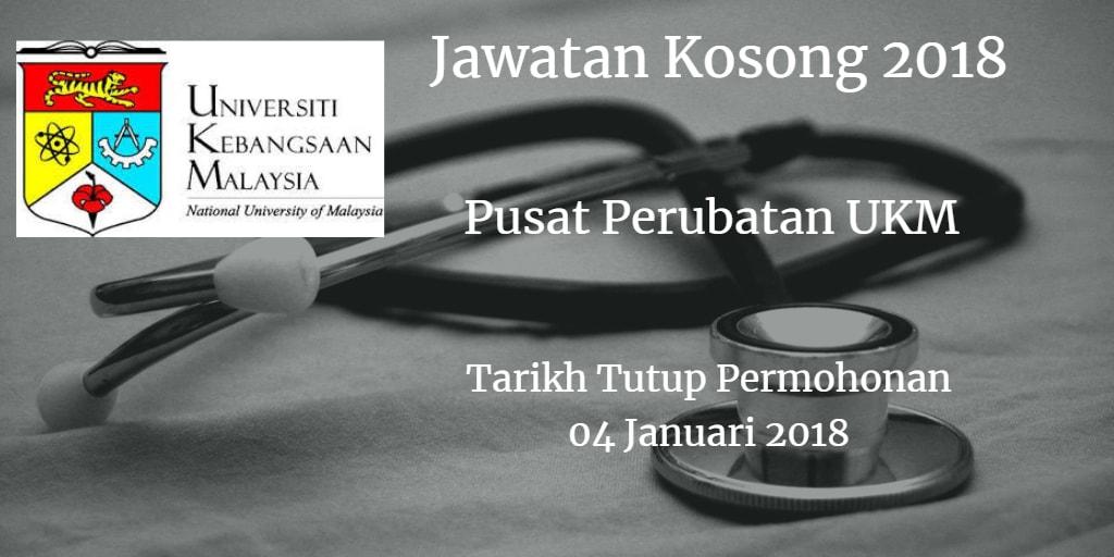 Jawatan Kosong PPUKM 04 Januari 2018