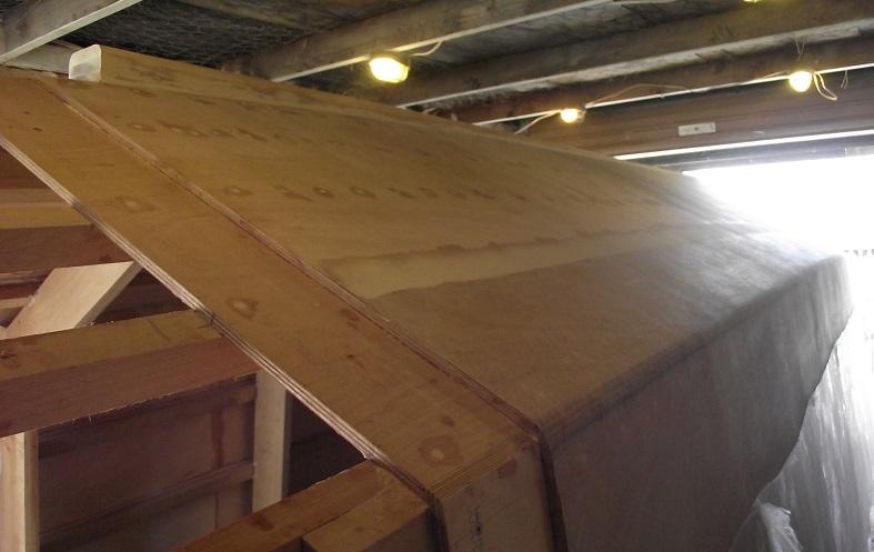 diy plywood house boat building creation of jigsaw