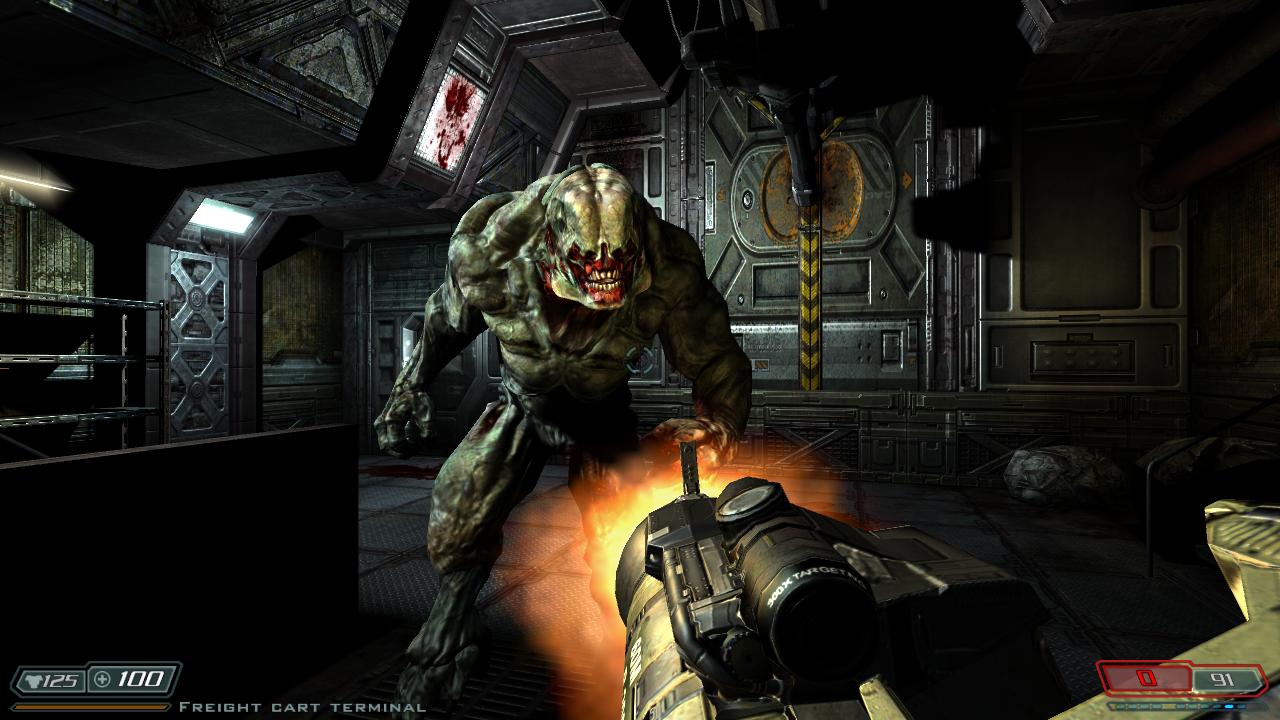 Doom 3: bfg edition game mod doom 3 bfg hi def v. 3. 1 download.