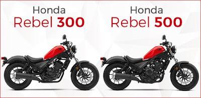 Honda Rebel 300/500 - Motor Terbaru Dunia 2017