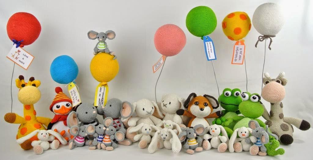 Geroezemoes In Huize Van Marrosa Balloon Wensdieren Haken Met