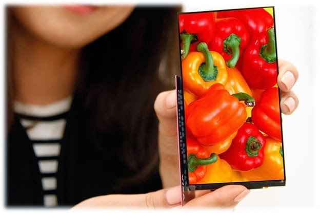 "LG outs a durable 5.3"" display using the world's narrowest bezel"