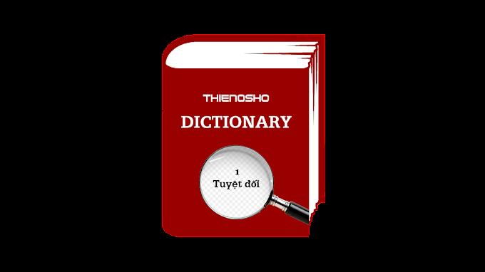 Từ điển Thiền Osho - 0001 Tuyệt đối