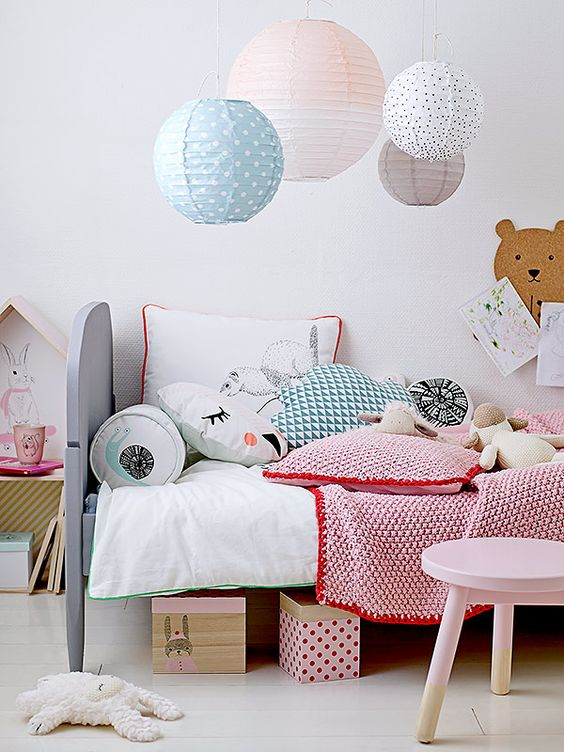 Pastels in the child's room | Cleo-inspire