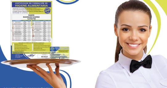blog rasufilm: carnet de manipulador de alimentos con asonaman
